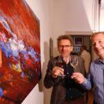 Eitel & Wirtz sowie ein typischer eyetill an der  Wand
