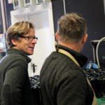 Michael Andres & Steffen Mugler: die Aussicht auf einen perfekten Chardonnay-Auxerrois sind Motivation pur!